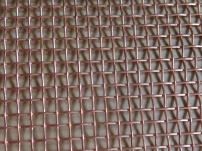 It is a piece of bronze window screen whose mesh size is 16 mesh × 16 mesh.