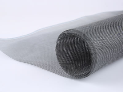 There is a roll of anti-dust screen in gray and you can see the mesh clearly from this picture of real product.