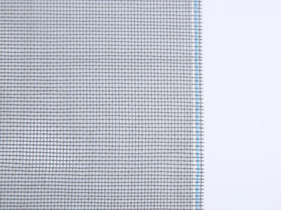 This picture shows a piece of pet screen mesh in black.