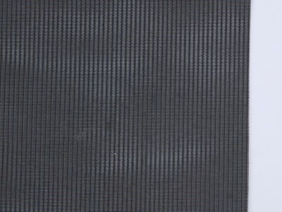 It shows the details of pollen repellent window screen, such as the shape of its mesh.