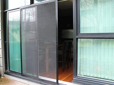 Screen netting for doors