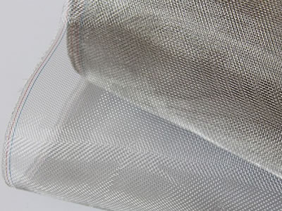 It is a roll of SS window screen which has bright color.